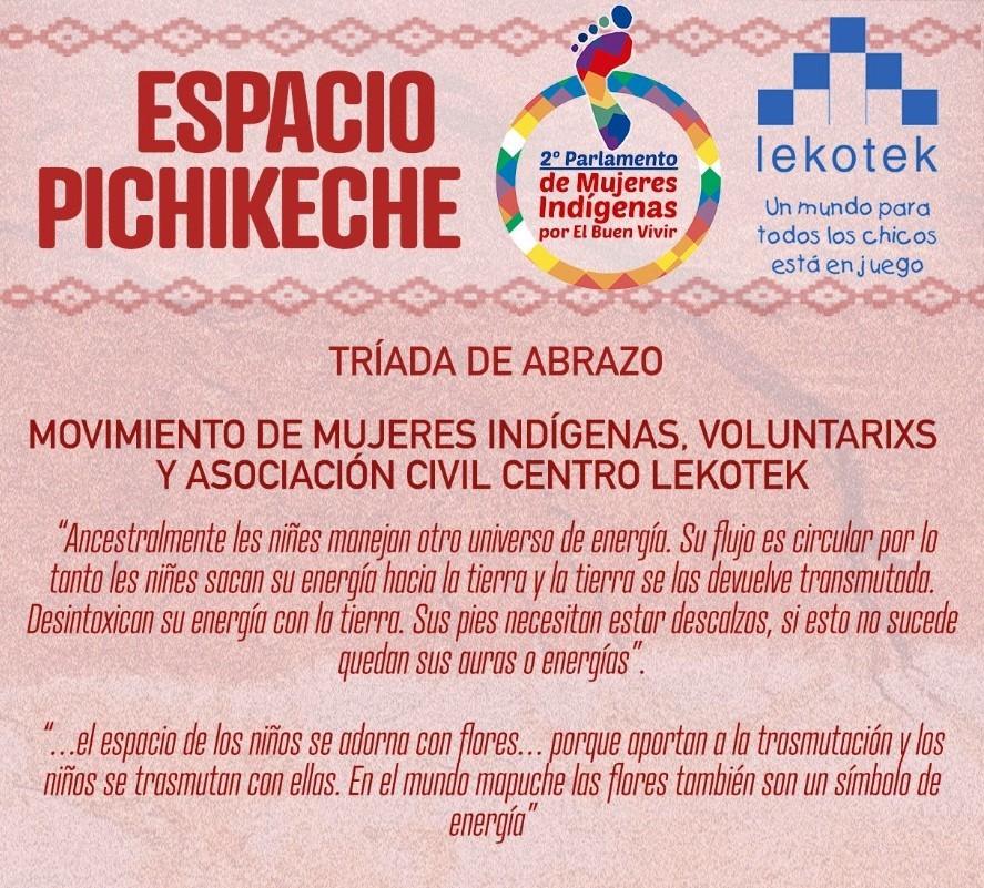 lekotek en el Segundo Parlamento de Mujeres Indígenas por El Buen Vivir